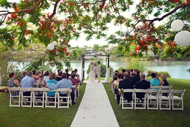 Madi Amp Santis Emotional Butterfly Wedding Ceremony In Brisbane