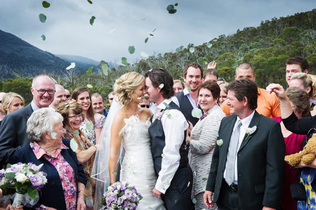 Lucy & Adam: An Aussie Bush Wedding At Lake Crackenback